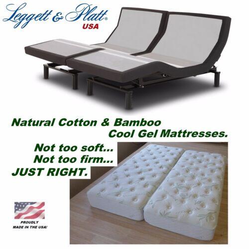 Leggett & Platt Prodigy 2.0 Split Eastern King Adjustable Bed With Mattresses