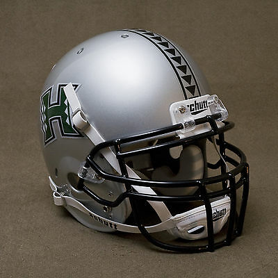 (HAWAII WARRIORS 2005-2007 Authentic GAMEDAY Football Helmet HAWAI'I)