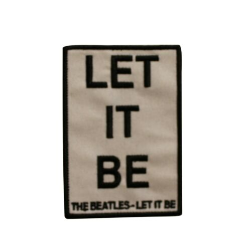The Beatles Let It Be Embroidered Sew On Patch - 075-R