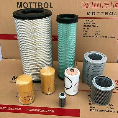 Fits For Komatsu Pc200-8 6d107 Engine Filter Air Fuel Oil Hydraulic Service
