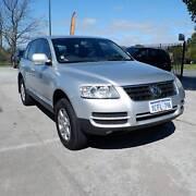 2006 VOLKSWAGEN TOUAREG V6 AUTO FULL SERVICE HISTORY $9990 St James Victoria Park Area Preview