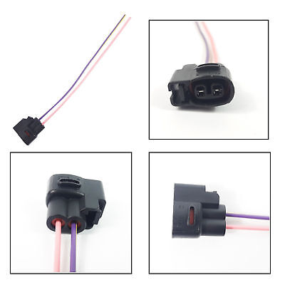 JAPANESE CAR WINDSCREEN WASHER EXTENSION WIRING HARNESS LOOM 2 PIN CONNECTOR