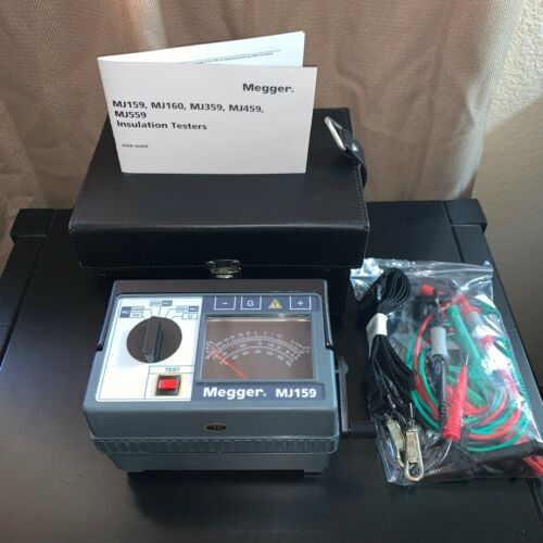 Megger MJ159 Hand Crank Insulation Tester