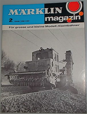 Märklin Magazin 2  1968   å   *