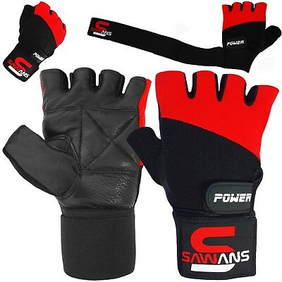 Best Weight Lifting Gloves Gym Bodybuilding Fitness Workout Training Wrist