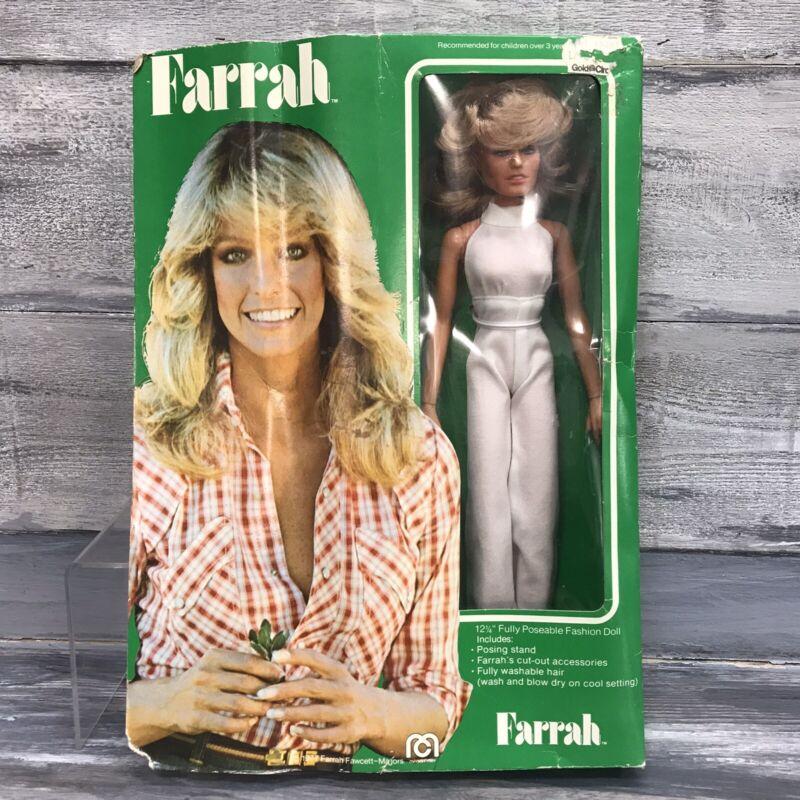 "1977 Mego Farrah Fawcett Doll 12"""