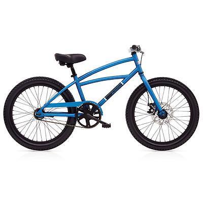 en Fahrrad 20 Zoll Blau 3Gang Beachcruiser Mountain Kinder (Jungen Beach Cruiser)