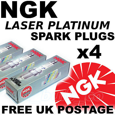 4x NEW NGK Laser Platinum SPARK PLUGS BMW Z3 19 lt All models 99   No 3199