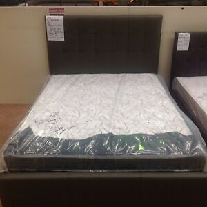 Raveena full leather bed clearance (under half price)