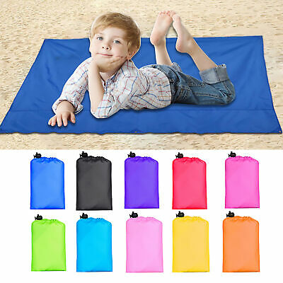 Foldable Sand Free Beach Mat Outdoor Picnic Blanket Rug Sand