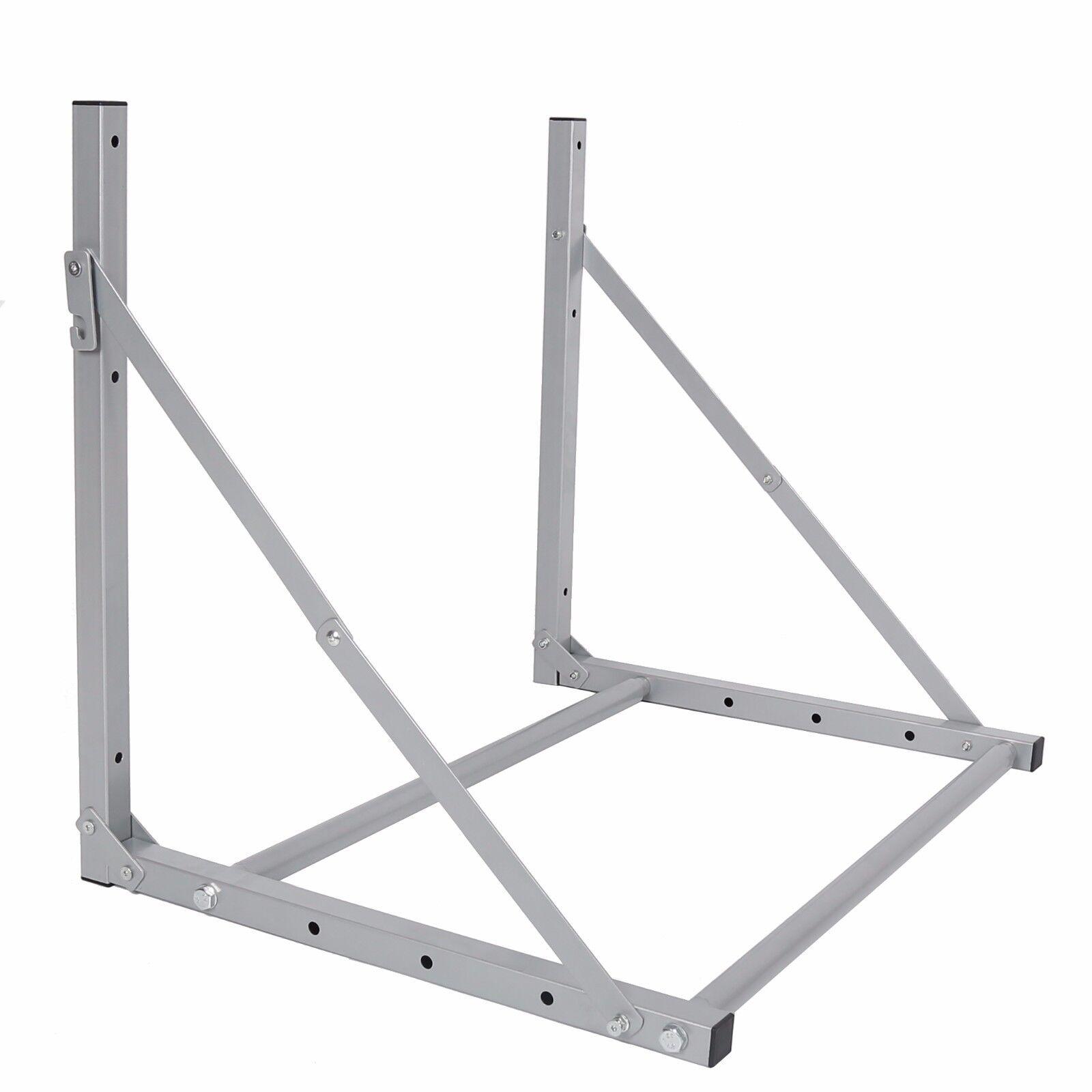 Folding 4 Tire Wheel Rack Storage Holder Heavy Duty Garage W