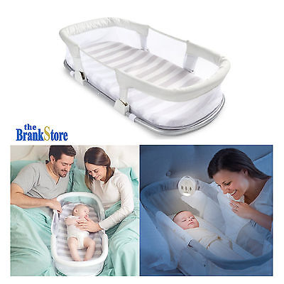 Portable Baby Bassinet Newborn Sleeper Bed Nursery Furniture Infant Crib Cradle
