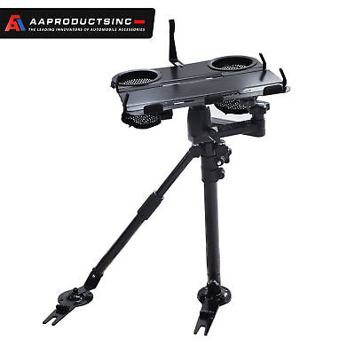 Auto Laptop Tablet Computer Mount Stand Car SUV Truck Holder w/Supporting Arm