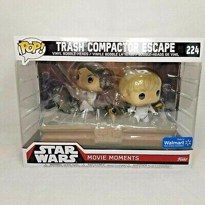 Funko Pop! Star Wars Trash Compactor Escape #224 Walmart Exclusive Movie Moments