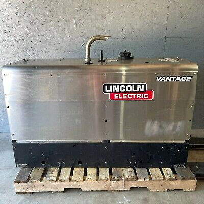 2018 Lincoln Vantage 322 22hp Kubota Engine Diesel Welder Generator Welding 40hr