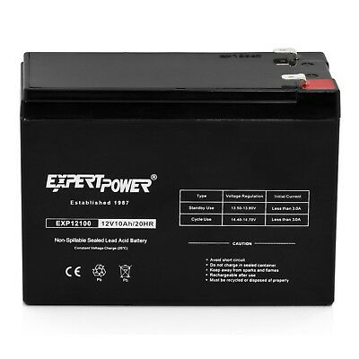 EXP12100 12V 10AH Universal Multipurpose Rechargeable SLA Battery - F2 (12v 10ah Sla Rechargeable Battery F2 Terminals)