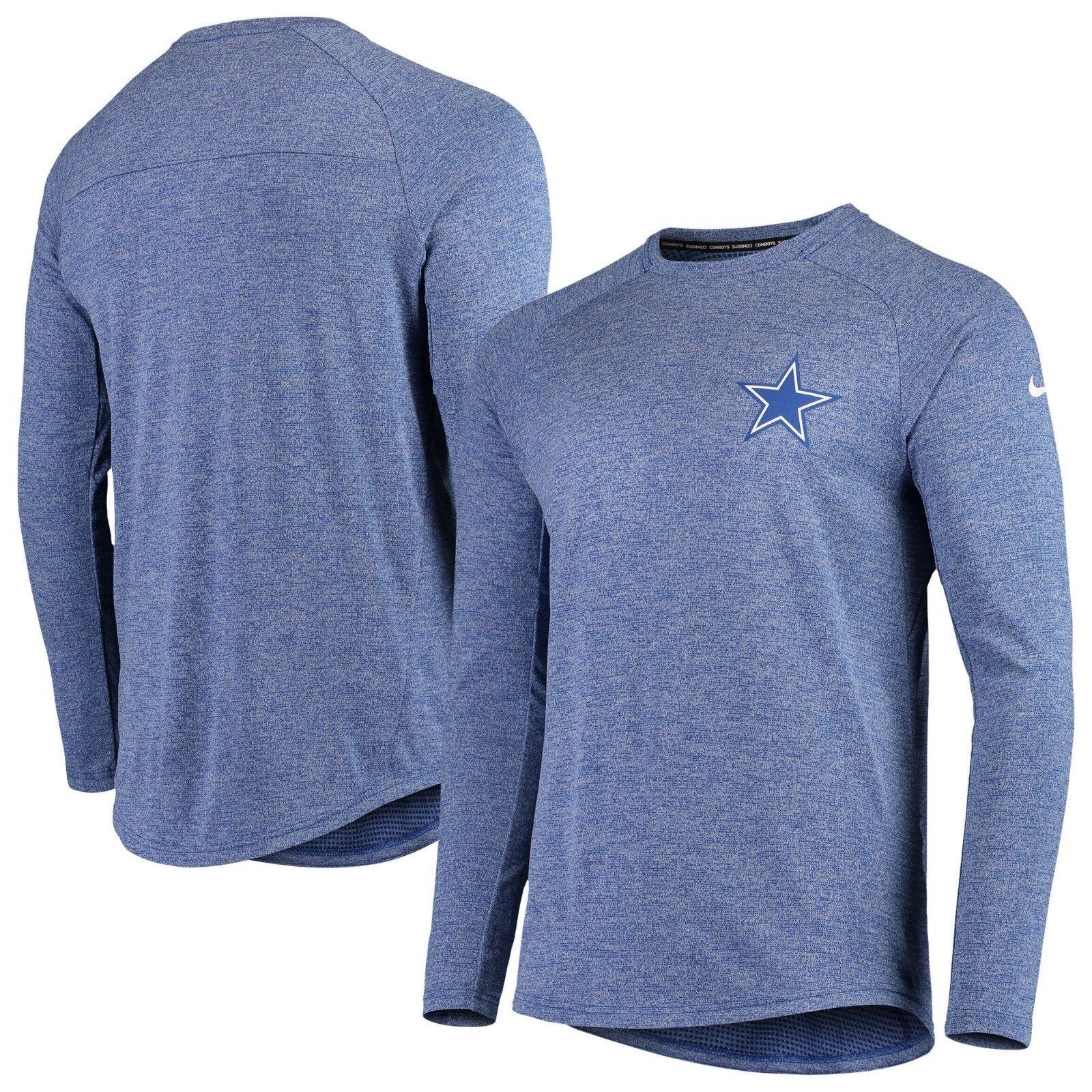 Dallas Cowboys Nike Fan Gear Stadium Long Sleeve T-Shirt – Royal NEW WITH TAGS!!