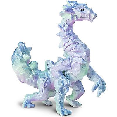 Crystal Cavern Dragon Fantasy Figure Safari Ltd NEW Toys Detailed Kids -