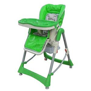 Brand New Baby High Chair Highchair Foldable Recline Adjustable Auburn Auburn Area Preview