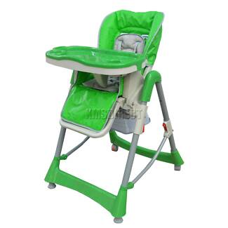 Brand New Baby High Chair Highchair Foldable Recline Adjustable