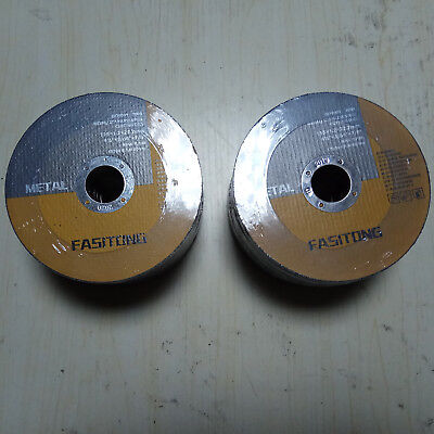 100 Pack 4-12x.040x78 Cut-off Wheel - Metal Stainless Steel Cutting Discs