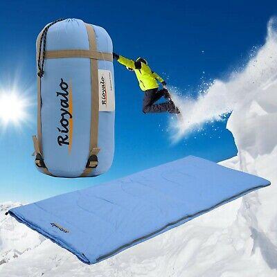 3 seasons Waterproof Sleeping Bags with sack - Lightweight Portable rectangular