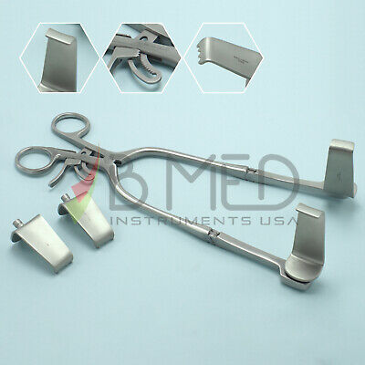 Or Grade Codman Largo Cervical Retractor With Sharp Blunt Blades Set Spine