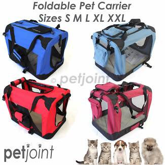 Soft Pet Crate Travel Carrier Foldable Puppy Dog Cat Cage Kennel