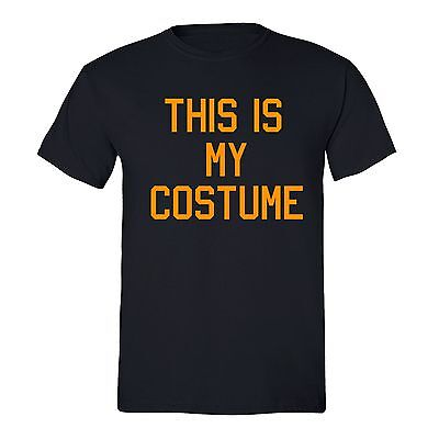 Halloween T-shirt This is my Costume Boo spooky Funny pumpkin Unisex Men - This Halloween