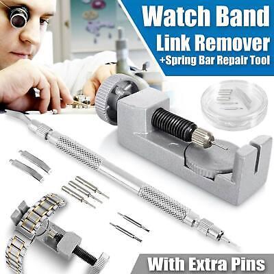 Adjustment Watch Band Strap Bracelet Link Pin Remover Repair Resizing Tool Kits
