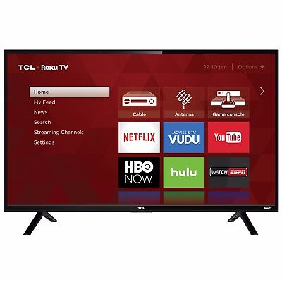 "Smart LED LCD HDTV TCL 32"" Inch HD 720P 60hz TV w/ USB HDMI 32S301 Wall-Mount"