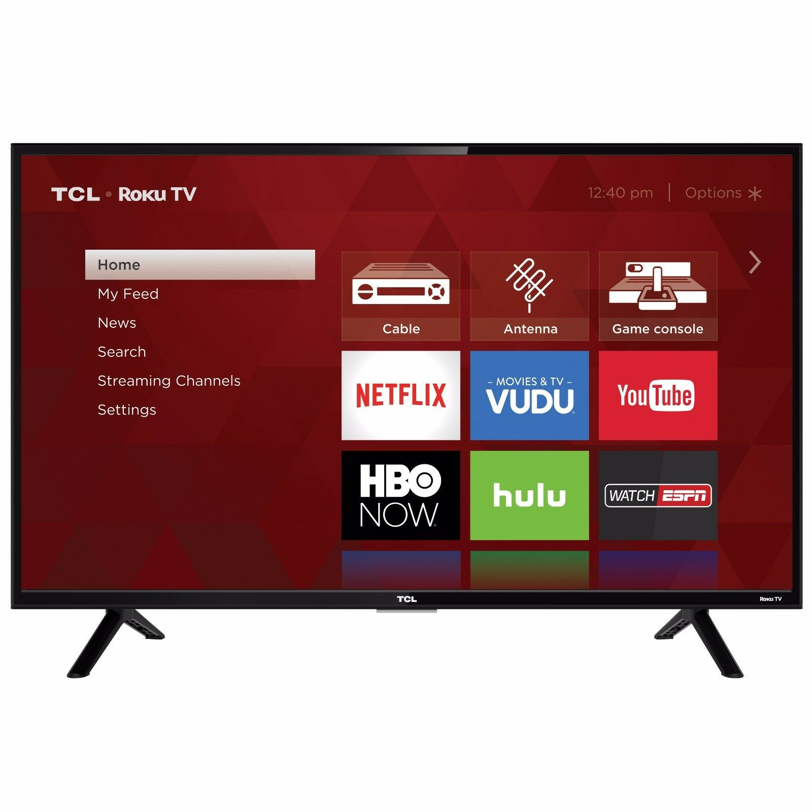 Smart LED LCD HDTV TCL 32
