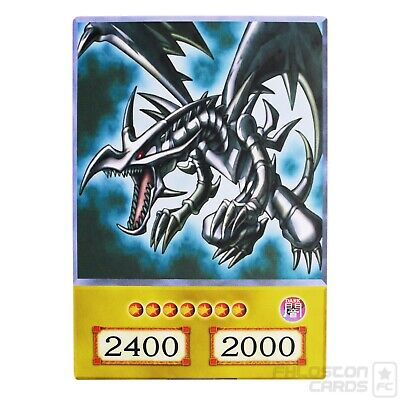 Red Eyes Black Dragon Orica  Yu-Gi-Oh  Anime Style Card