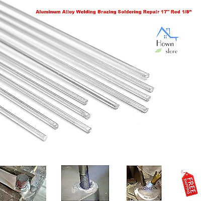 Aluminum Alloy Welding Brazing Soldering Repair 17 Rod Cracks Polish Boat 10pcs
