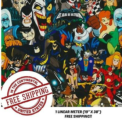 Hydrographic Water Transfer Hydro Dipping Dip Heroes Villains Film 1m 19x38