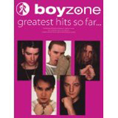 Boyzone Greatest Hits So Far Piano Vocal Guitar Sheet Music