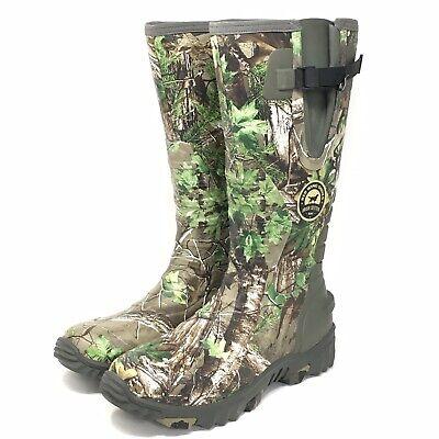 Irish Setter Mens Rutmaster 2.0 Hunting Waterproof Neoprene/Rubber Boot Size 13