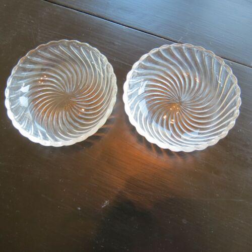 """2 Fostoria Colony 4.5"""" Nappy Bowls"""