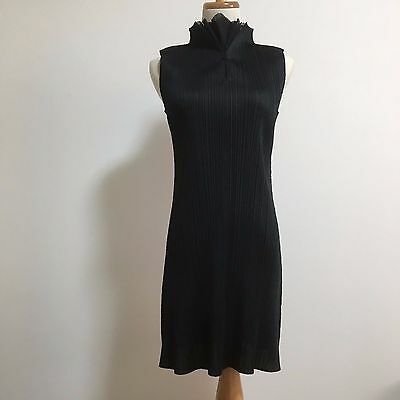 ISSEY MIYAKE PLEATS PLEASE Sleeveless Dress Size 3 made in Japan F/S