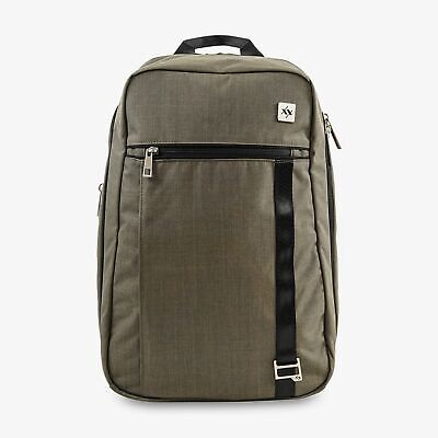 JuJuBe Base Baby Diaper Dad Bag Backpack Forest Green