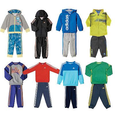 adidas Performance Baby-Jogger Jungen-Trainingsanzug Kinder-Jogginganzug Set - Jungen Anzug Set
