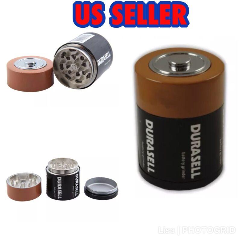 💥GRINDER💥1.75 Inch 3 Part D Battery Herb/Tobacco Grinder 🇺🇸
