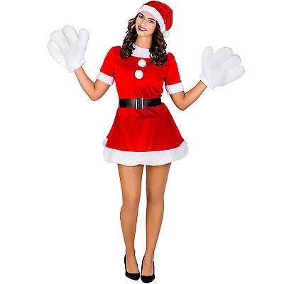 Frauenkostüm sexy Weihnachtselfe Kostüm Karneval Fasching Halloween Frau - Frauen Halloween Weihnachten Kostüm