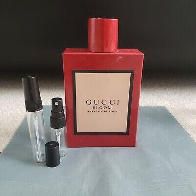 Gucci BLOOM Ambrosia Di Fiori EDP 3/5ml Spray Sample