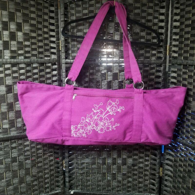 GAIAM Purple Yoga Mat Bag