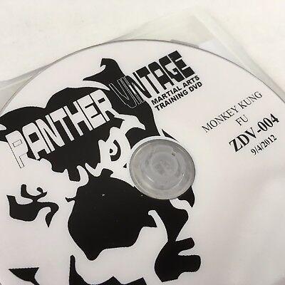 Monkey Kung Fu Sword Form Panther Vintage Martial Art Training DVD Paulie Zink