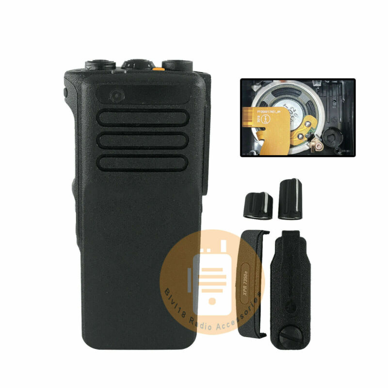 Front Outer Housing Case For Motorola XPR7350e DP4400e Radio With OEM Speaker