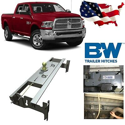 B&W GNRK1313 Turnoverball Gooseneck Hitch For 2003-2012 Ball Dodge Ram 2500 3500 Ball Gooseneck Hitch