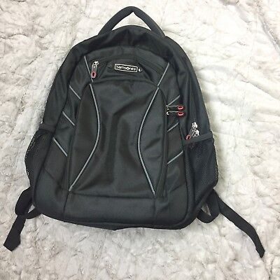 NWOT Samsonite Laptop TSA Friendly Checkpoint Luggage Backpack Black Red