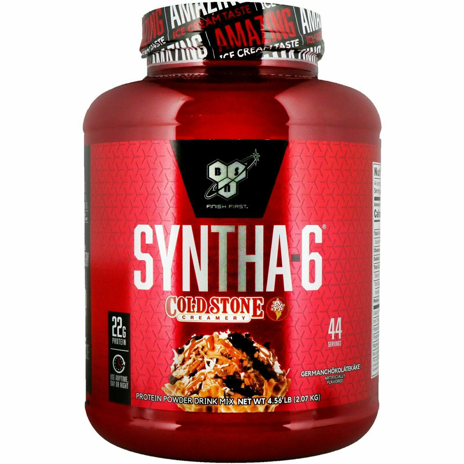 BSN Syntha-6 Protein Cold Stone Creamery 4.56 lb 44 Servings